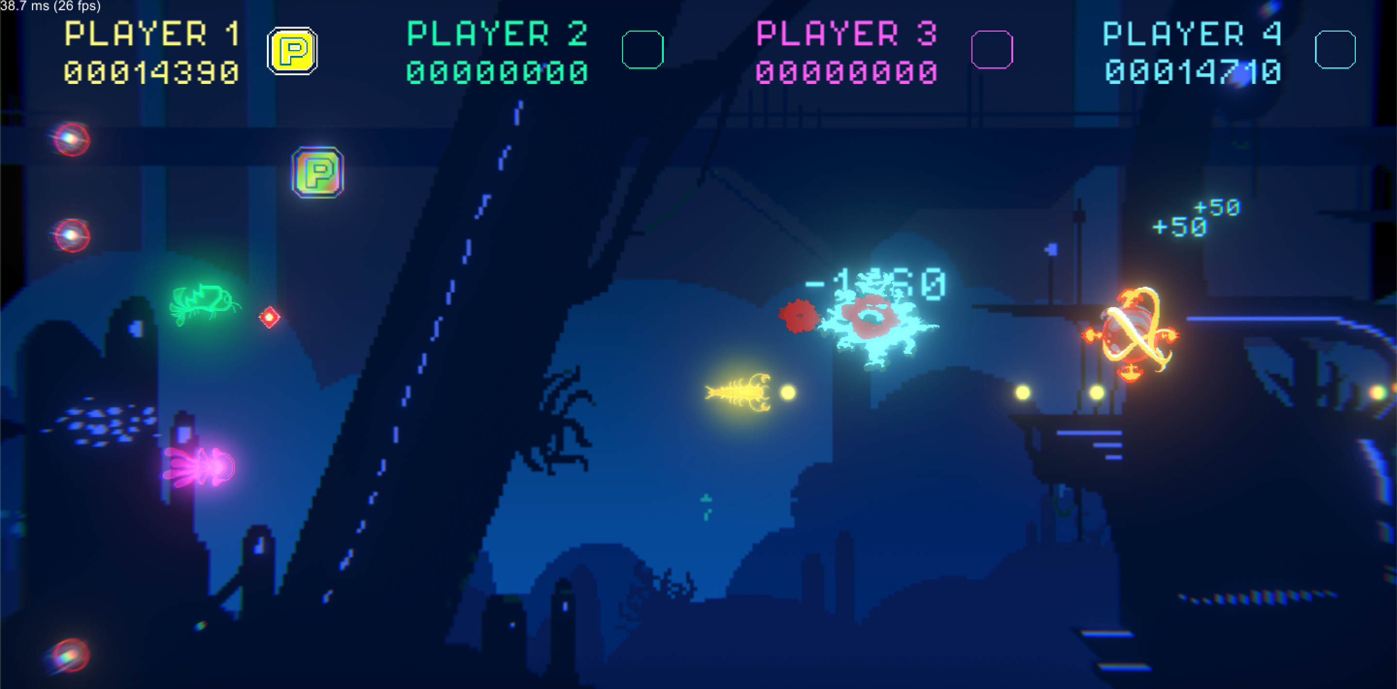 Abyssum : Shoot'em up (Unity) – Suliac Blineau